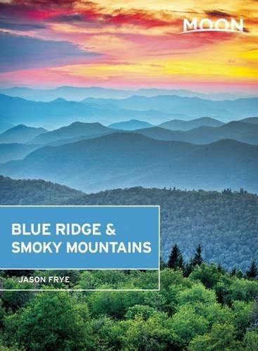 Book Cover: Moon Blue Ridge & Smoky Mountains