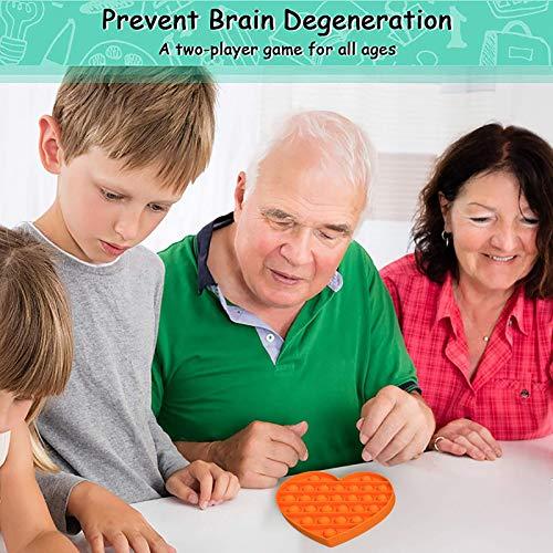 clacce 1x Push Bubble Sensory Toy Stress Relief Special Needs Silent Classroom Besondere Bedürfnisse Stressabbau