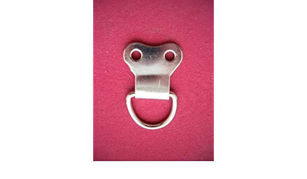 50 x D-Ring picture frame hanging hook double