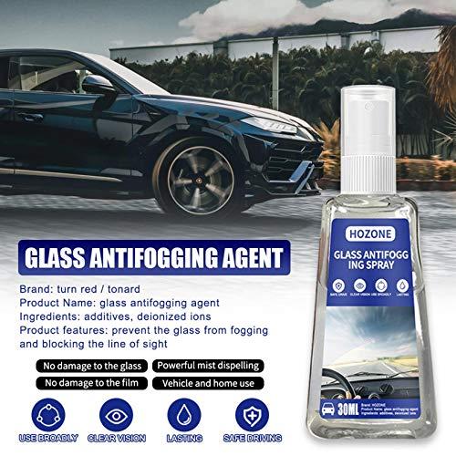 MiMiey Anti-Nebel-Spray Anti-Fog Auto-Glas Antibeschlagmittel Autoglas-Antibeschlagmittel Antibeschlagglas Antibeschlagmittel für Brillengläsern vor beschlagenden (30ML)
