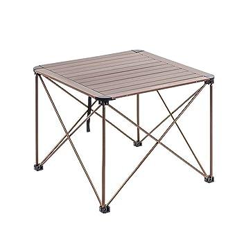 LYFHL-Folding table Mesa de Camping Plegable de aleación de ...