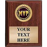 MVP Plaques - 5x7 Customized Most Valuable Player Trophy Plaque Prime
