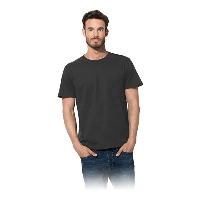 Anvil Crew Neck Adult Classical T Shirts Ideal Cotton Tees Shirts /& Top for Mens