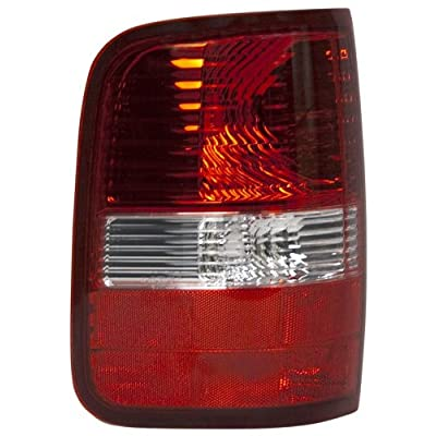 OE Replacement Ford F-150 Driver Side Taillight Assembly (Partslink Number FO2800182): Automotive