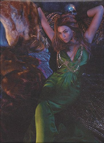 **PRINT AD** With Beyonce For House of Dereon Green Dresses Fashion **PRINT AD** - Dereon Dress