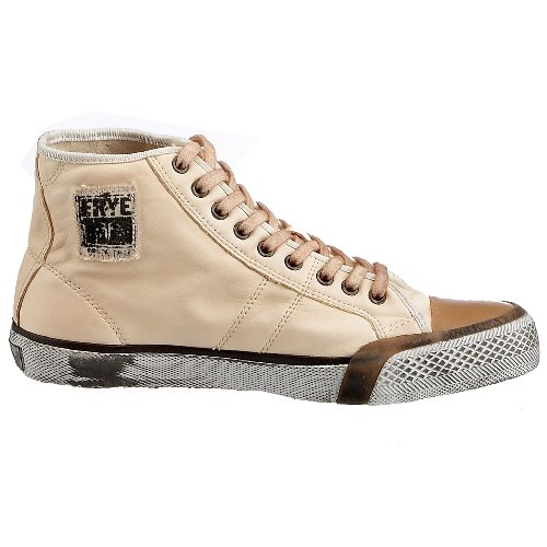 FRYE Greene Tall Lace, Baskets mode homme Blanc