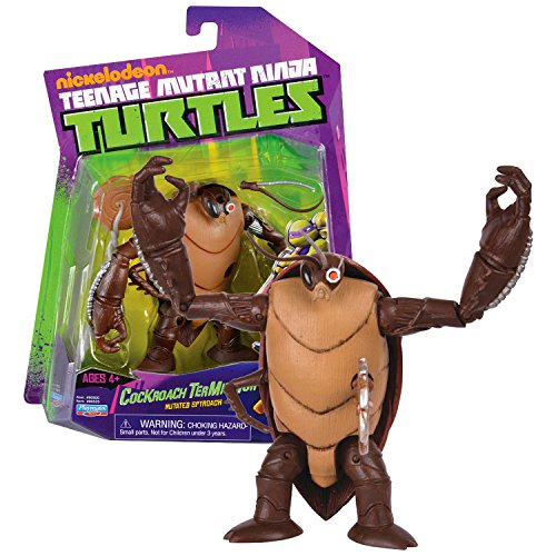 - Playmates Year 2013 Teenage Mutant Ninja Turtles TMNT 6 Inch Tall Figure - Mutated Spyroach COCKROACH TERMINATOR with Saw Blade & Detachable Antenna