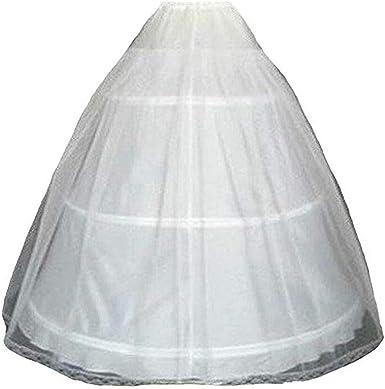 1Pc Women 3 hoop crinoline wedding ball gown bridal dress petticoat skirt SG