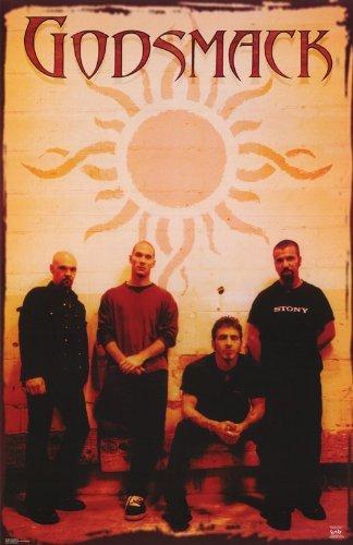 Faverlkujj Godsmack Poster Band Shot,24 x 36 inches