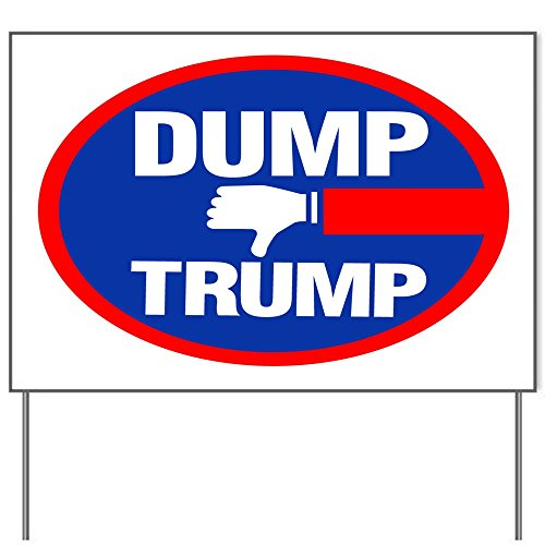 Dump Trump President 18x24' Yard Sign by Debbie's Designs