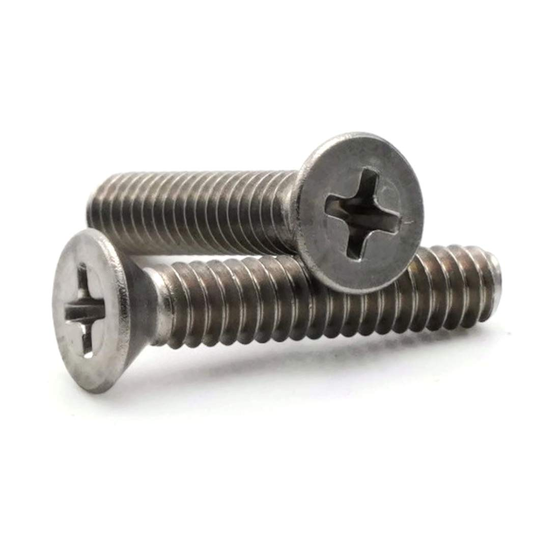 Phillips Flat Head Machine Screw 18-8 Stainless Steel 3//8-16 x 1-1//4 Qty-25