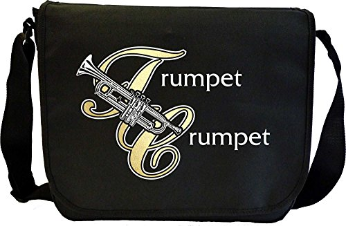Trumpet Crumpet - Musik Noten Tasche Sheet Music Document Bag MusicaliTee 7EToxURN4j