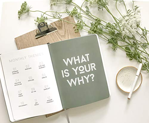 2019 Make Shit Happen Planner - Black + Confetti Foil Cover, Goal Setting Planner and Journal by Meraki Printing (Image #2)