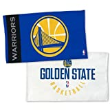 WinCraft NBA Golden State Warriors On Court Locker Room Towel 22 x 42 inches 2 sided print