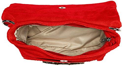 Chicca 28x22x5 A Donna H red Spalla X w L Rosso Borse 8651 Borsa Cm RYCxwRrqf