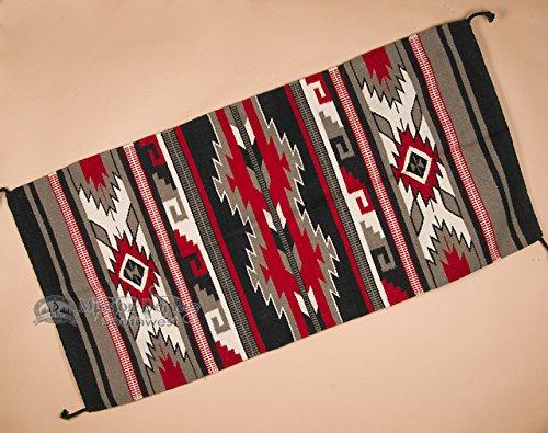 Mission Del Rey Western Saddle Blanket Wool Rug -