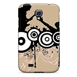 DaMMeke Scratch-free Phone Case For Galaxy S4- Retail Packaging - Music Style Vector
