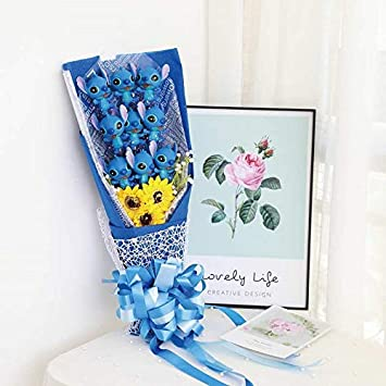 lzpoyaya Soft Stitch Bouquet Piel De Peluche Animales De ...