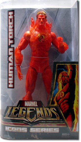 Marvel Legends Icons Series - Human Torch