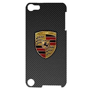 Porsche Logo Phone Case Exquisite Design 3D Phone Back Case Cover for Ipod Touch 5th Generation Porsche Car Flag