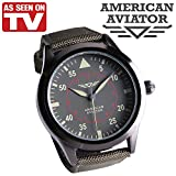 American Aviator Watch As Seen On Tv NEW!!! with a military green band