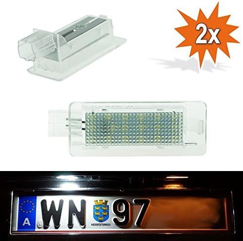 Doled P02 Led Kennzeichenbeleuchtung Mit E Prüfzeichen Xenon Optik Auto