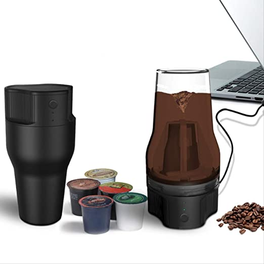 500ml Mini Cafetera Eléctrica Auto Usb Coffee Cafe Filtro Máquina De Café Extracción De Café De Preparación Rápida: Amazon.es: Hogar