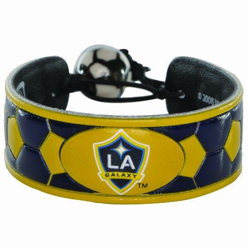 - MLS Los Angeles Galaxy Team Color Soccer Bracelet