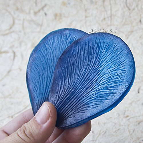 Cutters Porcelain Cold (Vein stamp double sides Iris Petal for polymer clay\cold porcelain\EVA flower making)