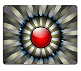 Qzone Mousepads Steel plate with glossy red eye abstract background IMAGE 22164431 Customized Art Desktop Laptop Gaming mouse Pad