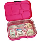 YUMBOX Leakproof Bento Lunch Box Container (Parisian Pink) for Kids with Glow-in-the-dark Stars!