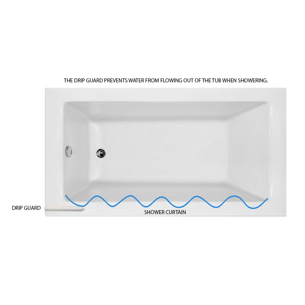 Amazon Shower Rods Drip Guard For Bathtubs Home Kitchen