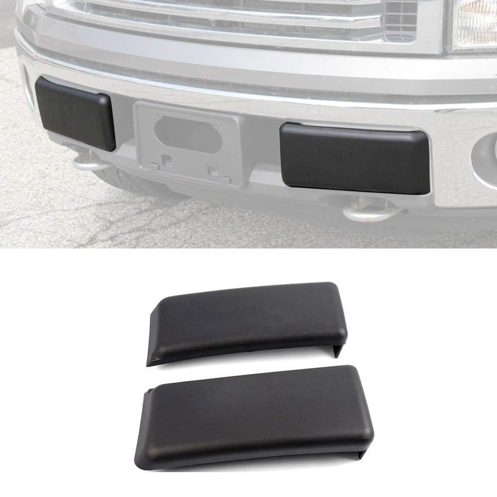 Winunite F150 Bumper Guard Pad Bumper Cap for F-150 Super Crew 2009/2010/2011/2012/2013/2014 (NOT Compatible with Harley Davidson, SVT)