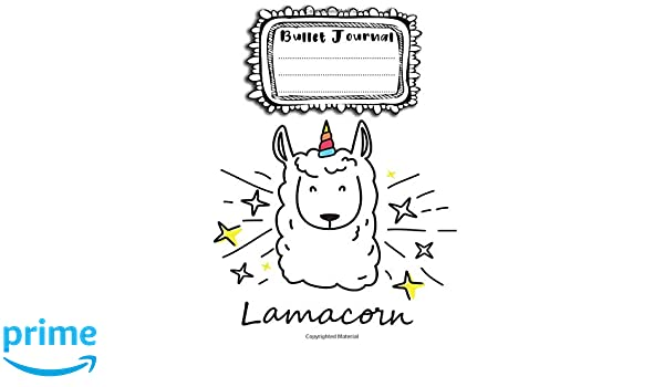 Bullet Journal: A4 - 156 paginas - unicornio - unicornios ...