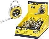 Maxcraft 60404 6-Feet Mini Clip-On Tape Measure