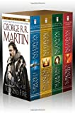 A Song of Ice and Fire, (4 Vols.): A Game of Thrones / A Clash of Kings / A Storm of Swords / A Feast for Crows