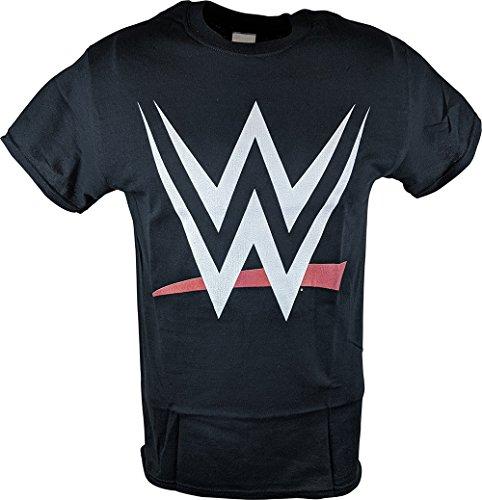 WWE 2015 New Logo World Wrestling Entertainment Mens Black T-Shirt-L by Freeze