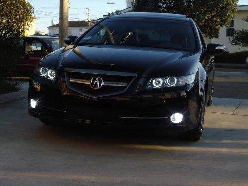 ACURA TL DS BiXenon HID CLEAR CORNER HEADLIGHT LED ANGEL - Acura tl halo headlights