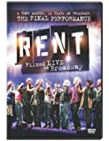 Rent: Filmed Live on Broadway [DVD] [Import]