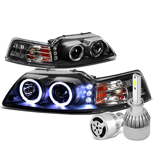 02 mustang halo headlights - 8