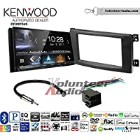 Volunteer Audio Kenwood DDX9704S Double Din Radio Install Kit with Apple Carplay Android Auto Fits 2008-2010 Smart Fortwo