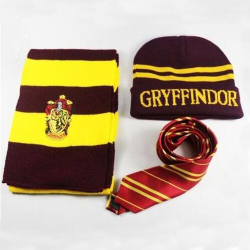 YHC Harry Potter Gryffindor House Wool Scarf Costume Bufanda de ...