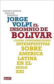 El insomnio de Bolívar par Volpi