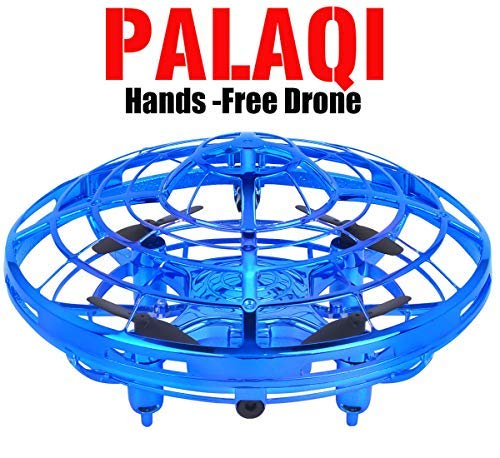 Drones for Kids, Flying Toys Boys Girls Kids Christmas Birthday Gifts Infrared Induction Auto-avoid Obstacles Quadcopter Helicopter Novelty Hand Controlled RC Toy Childrens Adults Beginners Mini Drone