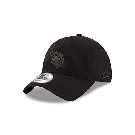 new products 7b803 c66bb Image Unavailable. Image not available for. Color  Arizona Cardinals Black  on Black 9TWENTY Adjustable Hat ...