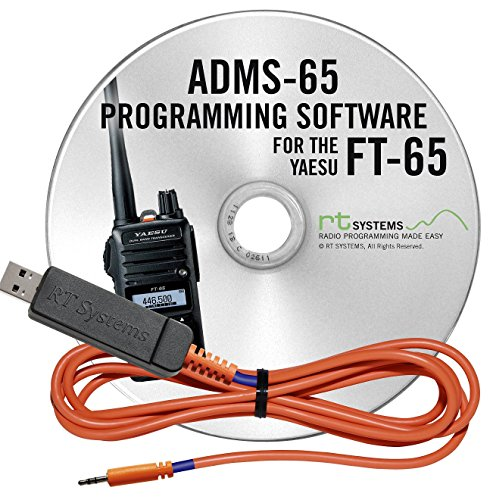 RT Systems Programming Software and USB-55 Cable for Yaesu FT-65 Dual Band HT by RT Systems
