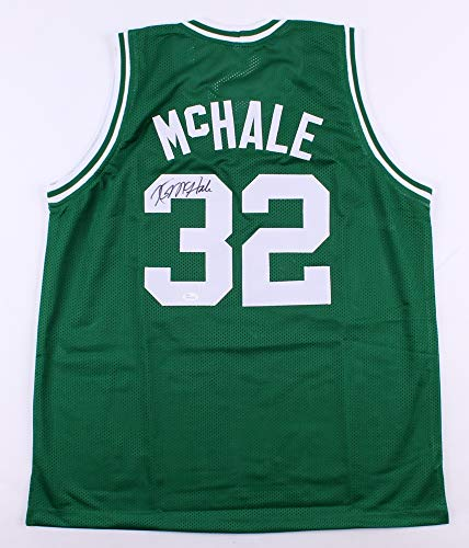 Hand Signed Green - Kevin McHale Autographed Green Boston Celtics Jersey - Hand Signed By Kevin McHale and Certified Authentic by JSA - Includes Certificate of Authenticity