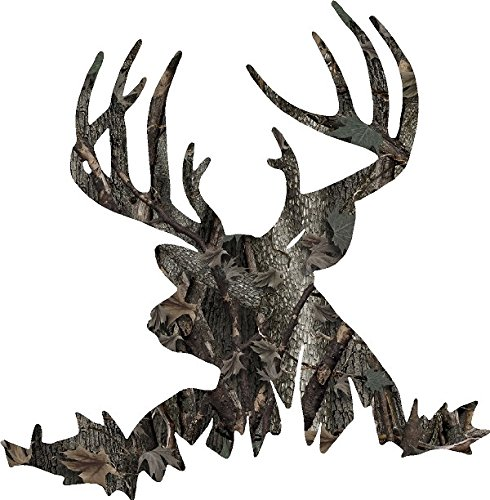 Deer Camo Hunting Color Decal 6