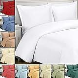 Best Royal Hotel duvet cover - King / Cal-King White Silky Soft Duvet Covers Review