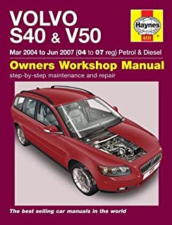 volvo s40 and v40 service and repair manual haynes service and rh amazon com